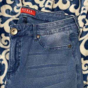 Guess light wash jeggings